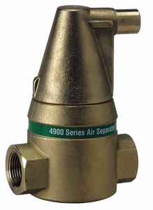 AIR SEPARATOR 2 IN. 150PSI AUTOMATIC by Taco
