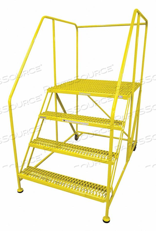 WORK PLATFORM 4 STEP STEEL 70IN. H. by Cotterman