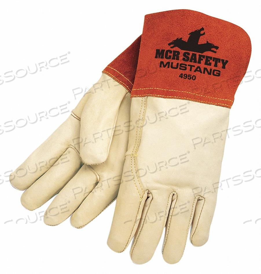 ECON GRADE MIG TIG COWHIDE CUF PK12 by MCR Safety