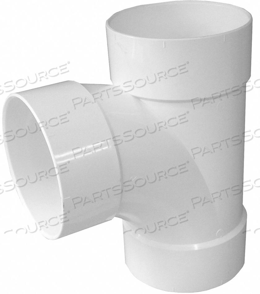 SANITARY TEE PVC 4IN. HUB by Genova