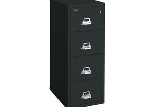 VERTICAL FILE 4 DRAWER LETTER by Fire King