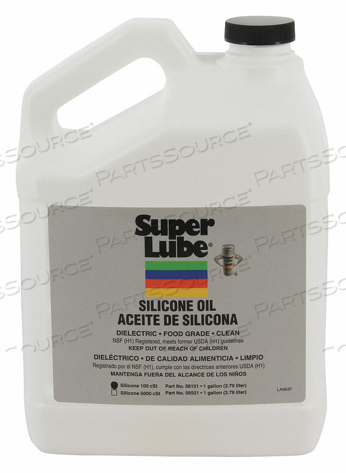 PURE SILICONE OIL 100 CSTPAIL 1 GAL. by Super Lube