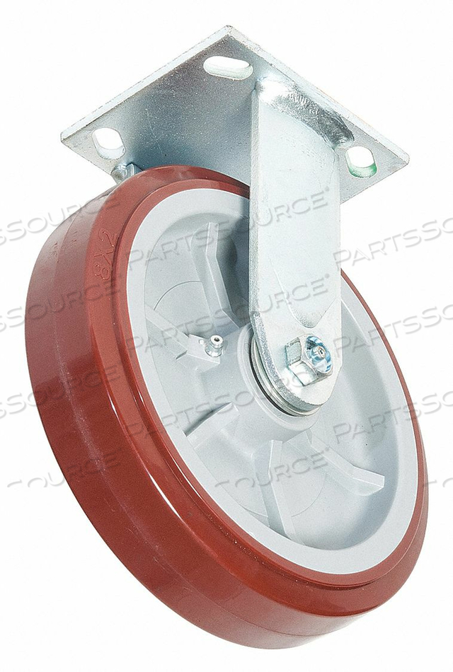 STANDARD PLATE CASTER RIGID 900 LB. by Greenlee