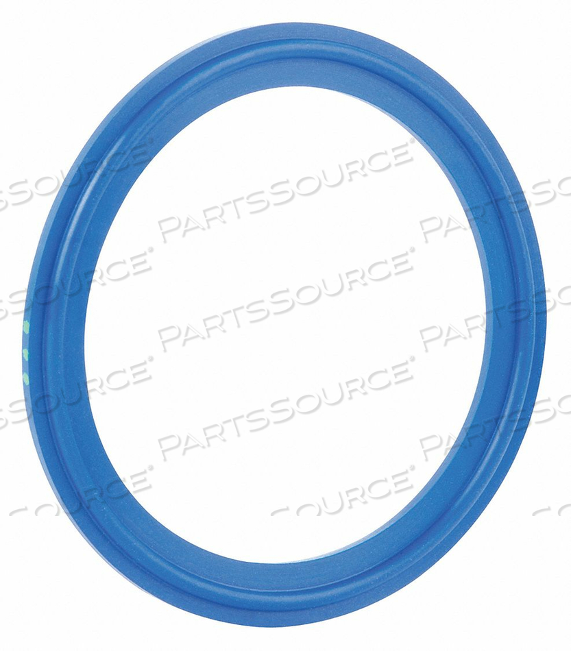 GASKET SIZE 3/4 IN TRI-CLAMP EPDM by Rubberfab