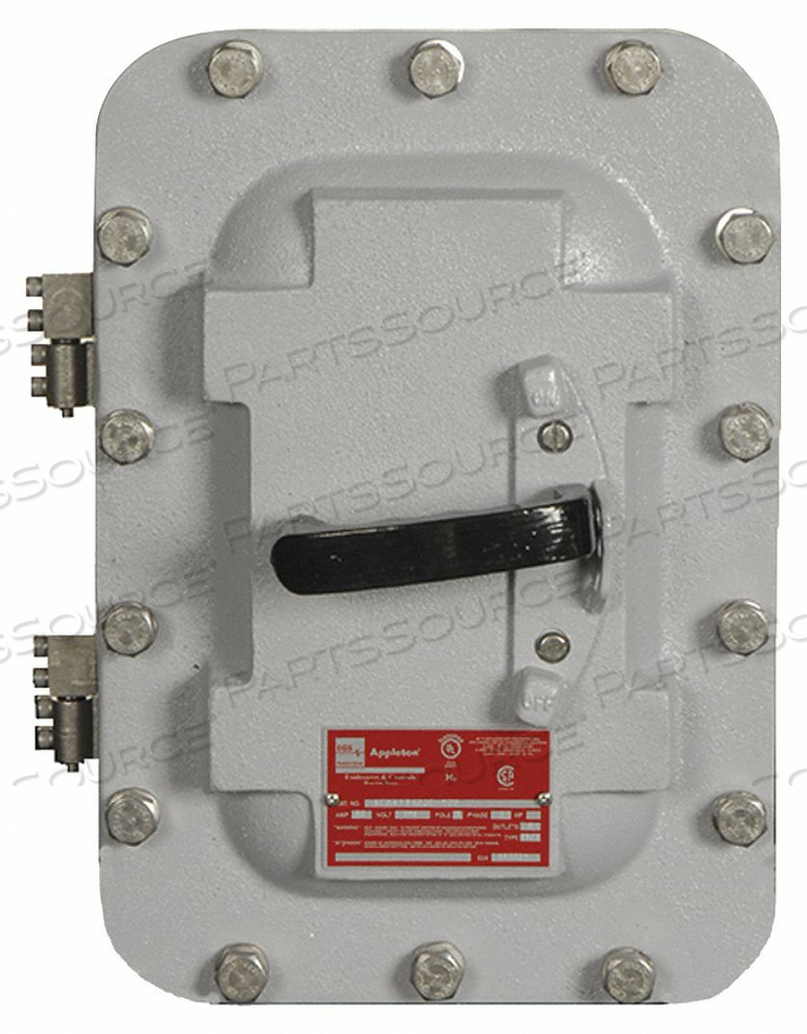 HAZARDOUS LOCATION SAFETY SWITCH 600VAC by Appleton Electric
