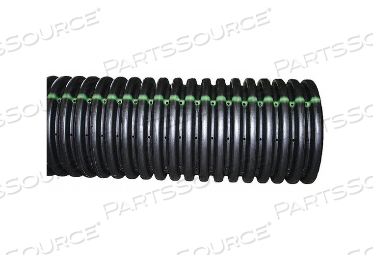 CORRUGATED DRAINAGE PIPE 10 FT L SINGLE by Advanced Drainage Systems