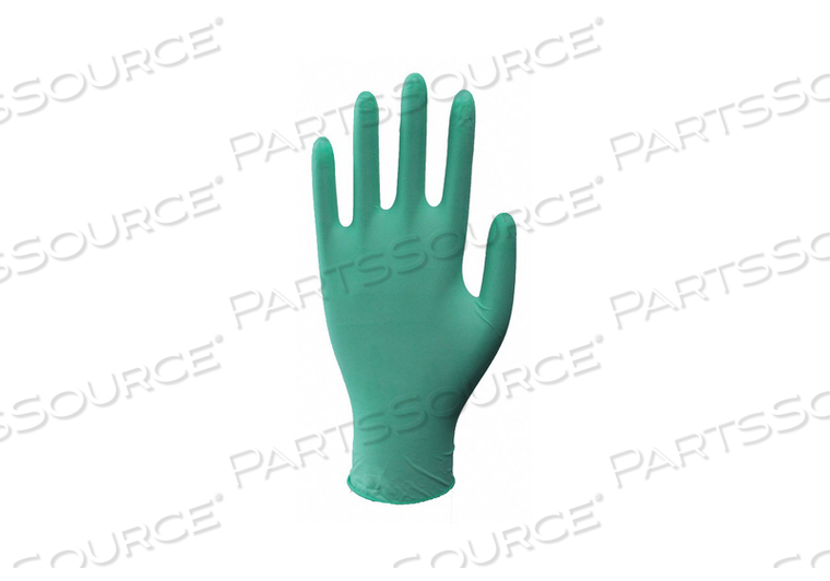 J4951 DISPOSABLE GLOVES RUBBER LATEX M PK100 by Condor