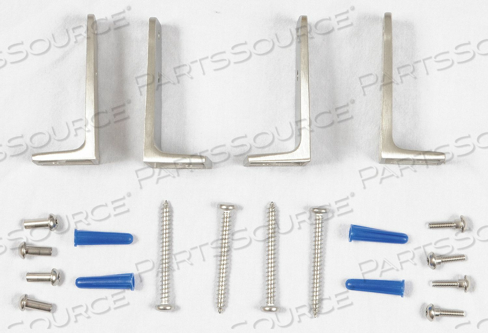 URINAL SCREEN REPLACEMENT HARDWARE SS by Global Partitions