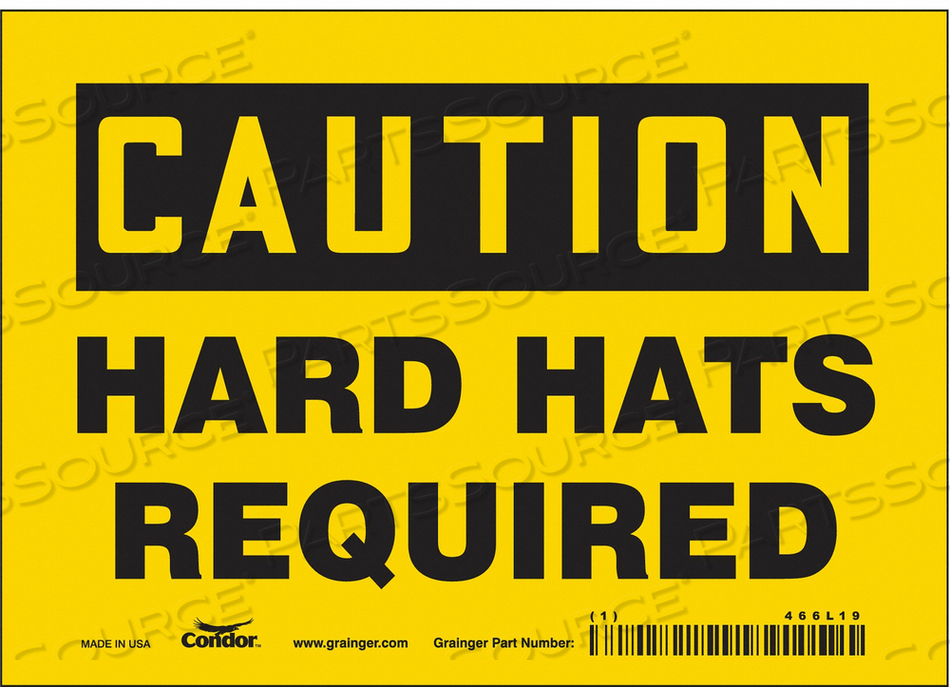 K0377 SAFETY SIGN PERSONAL PROTECTION 5 H by Condor