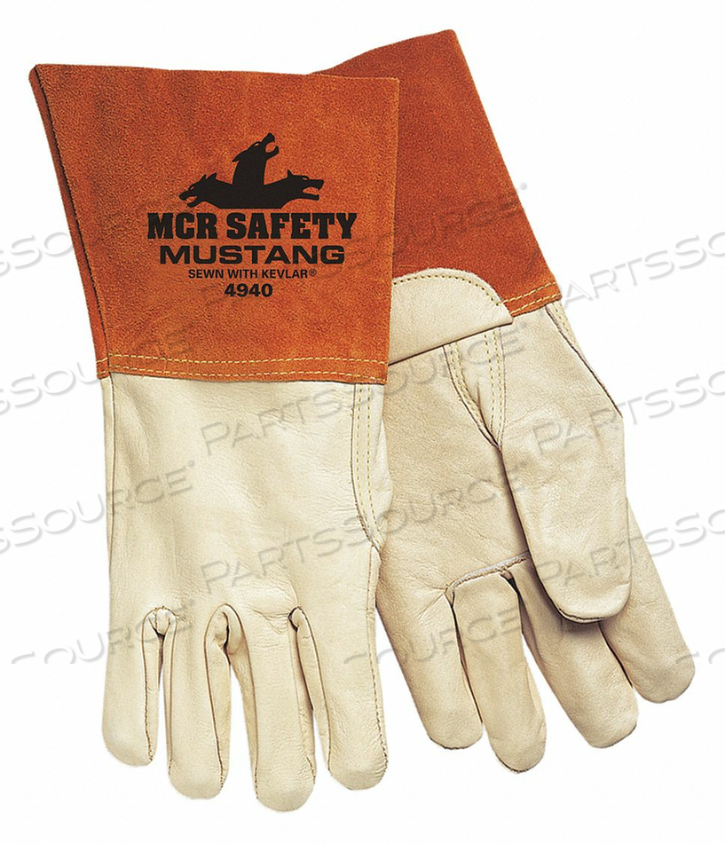 WELDING GLOVES MIG TIG M/8 PK12 by MCR Safety