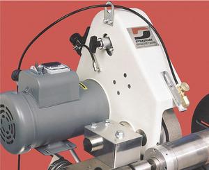ELECTRIC BELT GRINDER 230 V 2 X 48 IN by Dynabrade