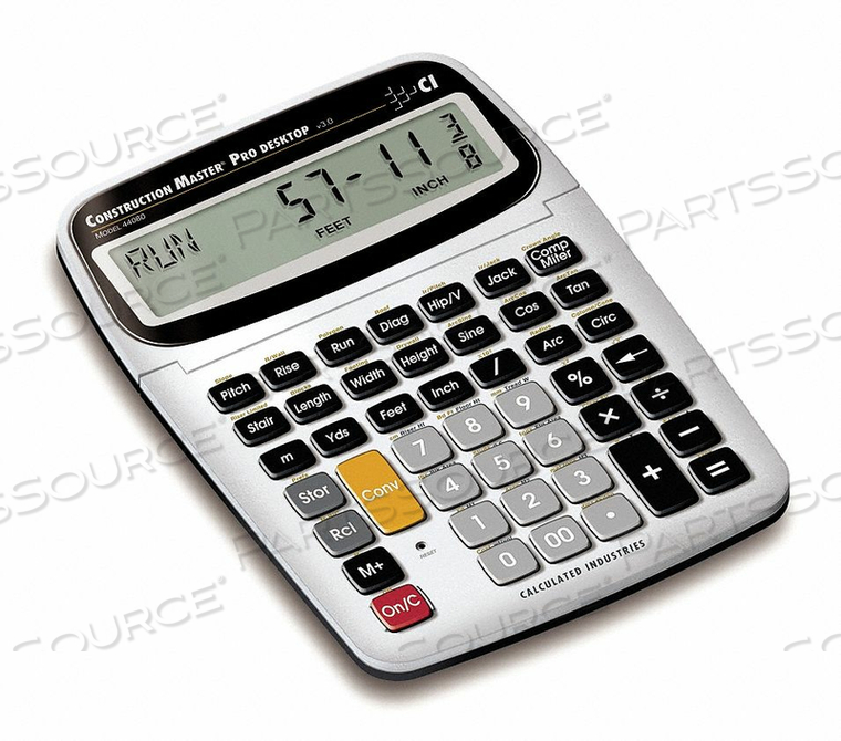 DESKTOP CONSTRUCTION CALCULATOR by Calculated Industries