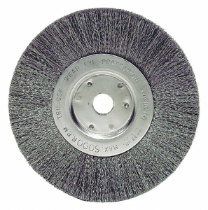 6 NARROW CRIMPED WIRE WHEEL .0104 5/8 by Weiler