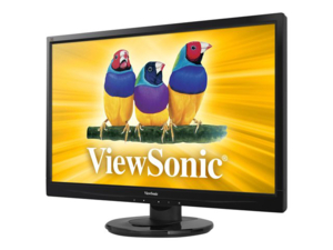LED MONITOR, MVA PANEL, 16:9 ASPECT RATIO, 3000:1 CONTRAST RATIO, 23.6 IN VIEWABLE IMAGE, 24 TO 82 KHZ HORIZONTAL, 50 TO 75 HZ VERTICAL, 28 W by ViewSonic