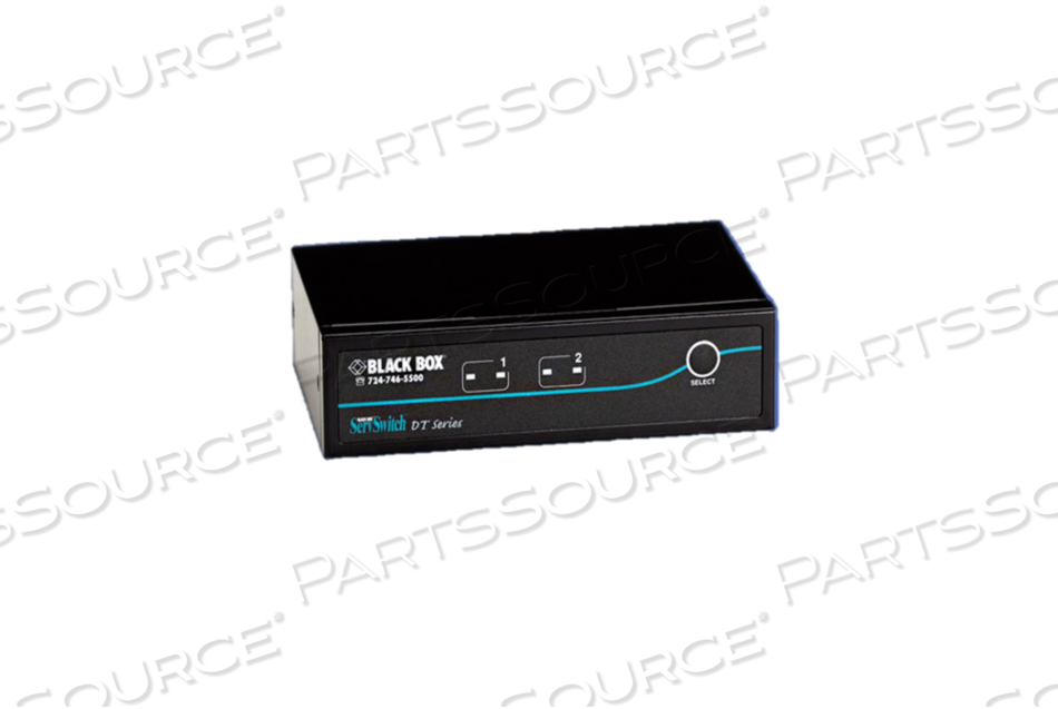 2-PORT DESKTOP KVM SWITCH DVI-D WITH EMULATED USB KEYBOARD/MOUSE by Black Box Network Services