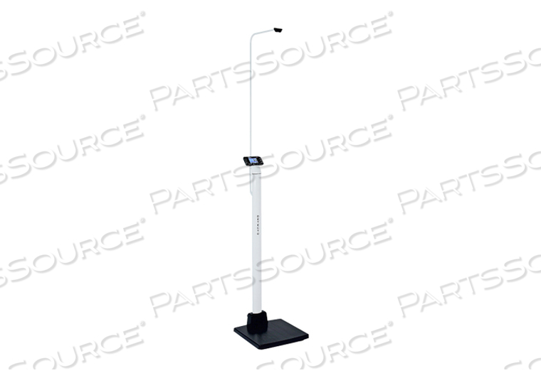 DIGITAL CLINICAL SCALE, SONAR HEIGHT ROD, 1000 LB/500 KG, 0.9 IN LCD by Detecto Scale / Cardinal Scale
