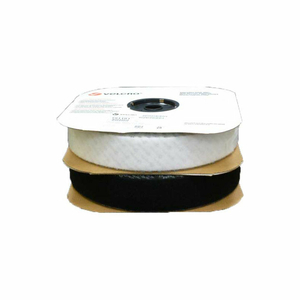 """VELCRO BRAND BLACK LOOP WITH ACRYLIC ADHESIVE 2"""" X 75' by Industrial Webbing Corp."""