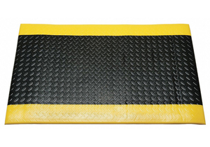 ANTIFATIGUE MAT BLACK 2FT. X 3FT. by Ability One