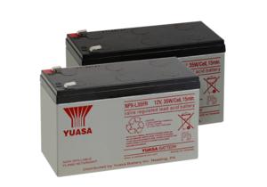 BATTERY, SEALED LEAD ACID, 12V, 8.5 AH, FASTON (F1) (PACK OF 2) by R&D Batteries, Inc.