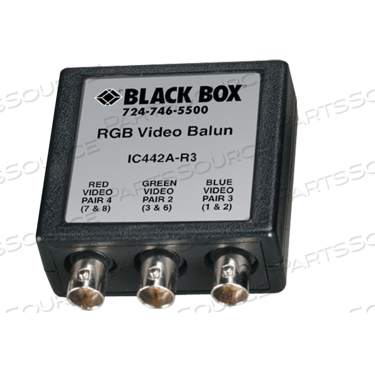 RGB VIDEO BALUN by Black Box Network Services