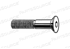 SHCS FLAT STEEL M8-1.25X20MM PK1100 by Fabory