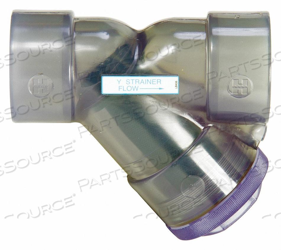 Y STRAINER PVC 1 THREADED FPM by Hayward