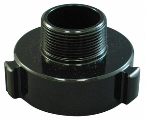FIRE HOSE ADAPTER 1-1/2 NH 2 NPSH by Moon American