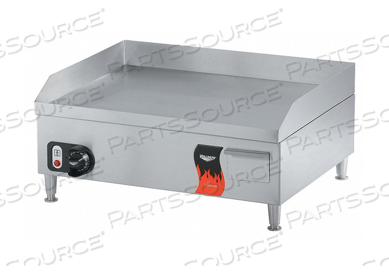 ELECTRIC FLAT TOP GRIDDLE 24 X 20 X 11 by Vollrath