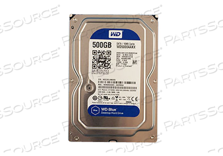 500GB HDD SATA DISK DRIVE by GE Healthcare