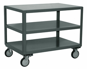 MOBILE TABLE 1400 LB. 37 IN L 31 IN W by Jamco