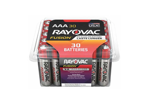BATTERY, AAA, ALKALINE, 1.5VDC, 1150 MAH (PACK OF 30) by Rayovac