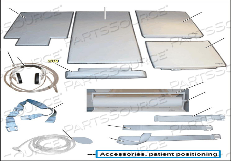 TABLE CUSHION by Siemens Medical Solutions