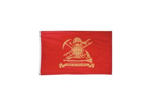 FIREMAN FLAG 3X5 FT NYLON by Annin Flagmakers