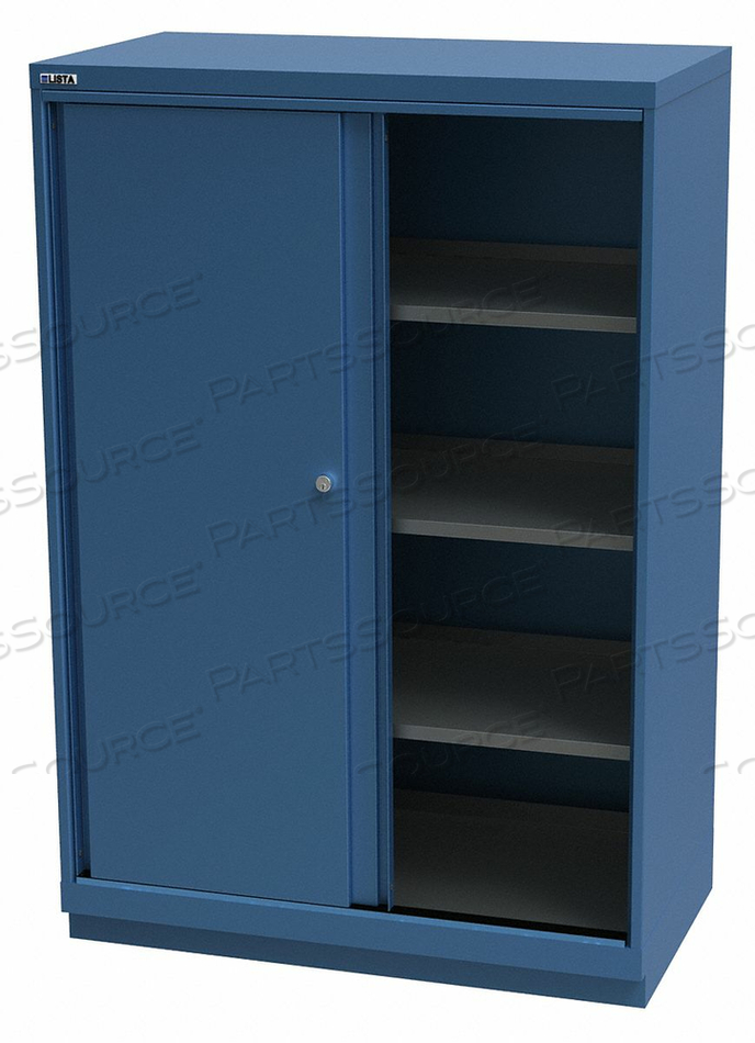 BASE CABINET 59-1/2 H 40-1/4 W BRGHT BLU by Lista