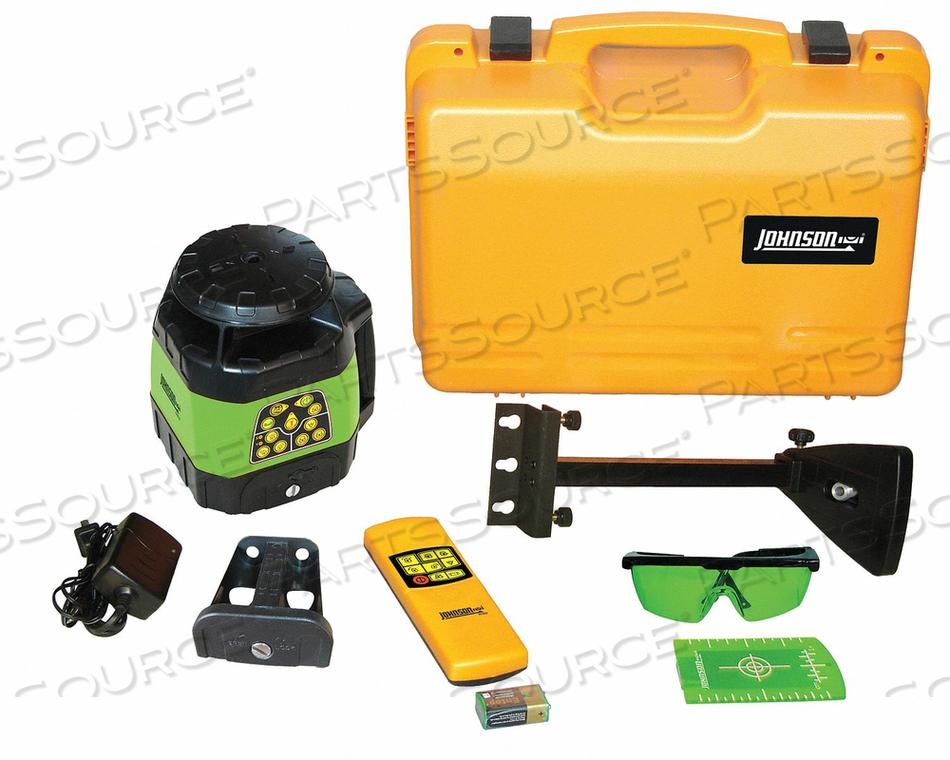 ROTARY LASER LEVEL INT GREEN 1200 FT. by Johnson Level