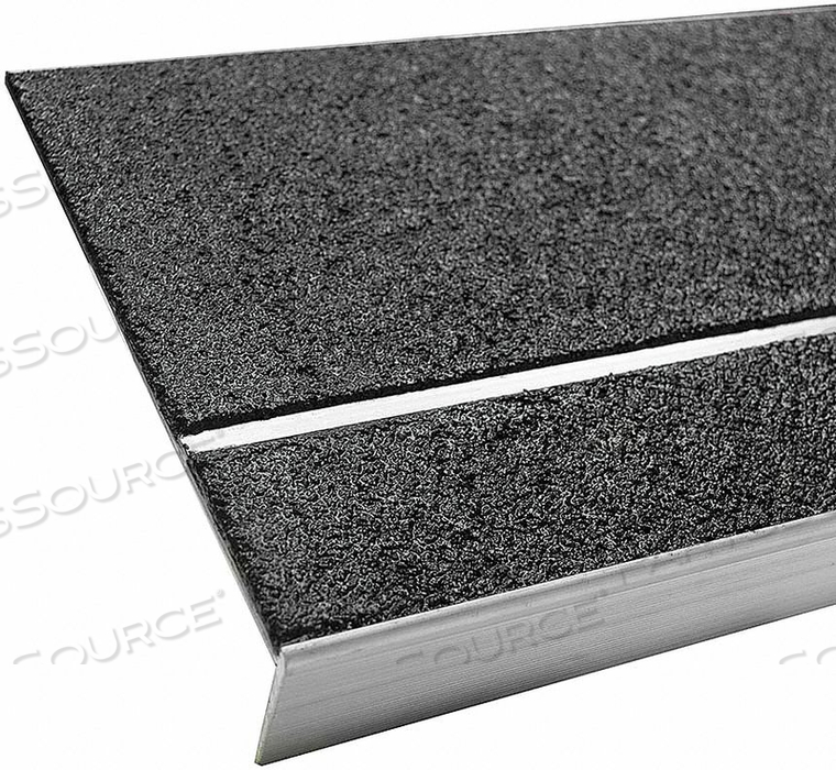 STAIR TREAD COVER BLACK 48  ALUM by Bold Step