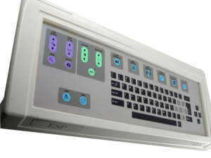 KEYBOARD ASSEMBLY, TEXT by OEC Medical Systems (GE Healthcare)