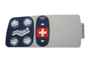 INNER RIGHT NURSE CALL LABEL by Stryker Medical
