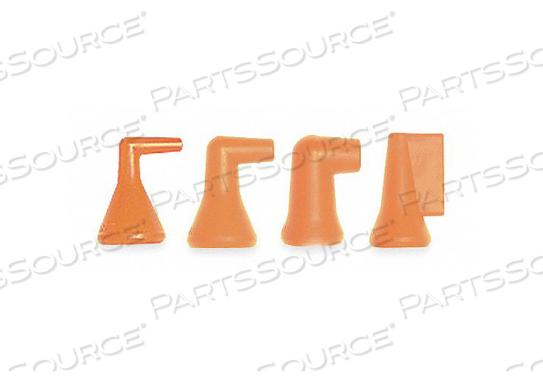 90 DEGREE NOZZLE ASST. FOR 1/4 IN HOSE by Loc-Line