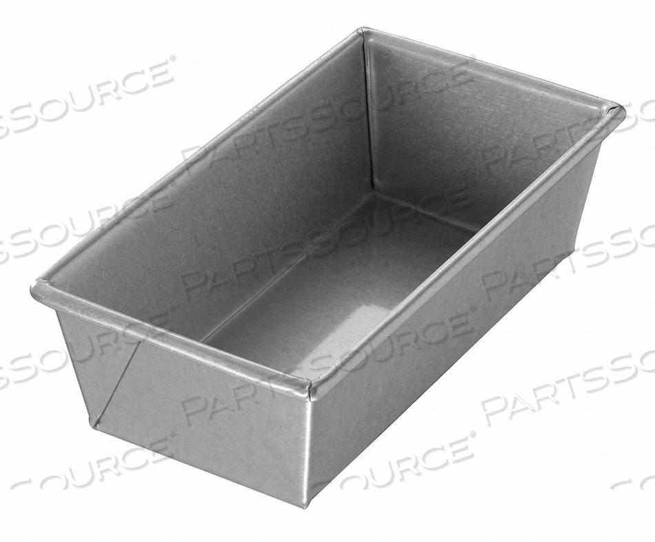 BREAD PAN SINGLE PLAIN 8-1/2X4-1/2 by Chicago Metallic