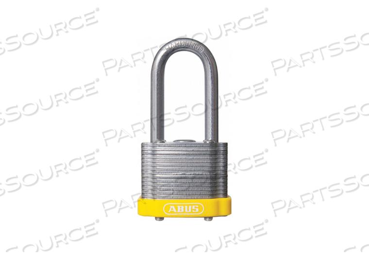 D8955 LOCKOUT PADLOCK KD MK YELLOW 1-3/8 H by Abus