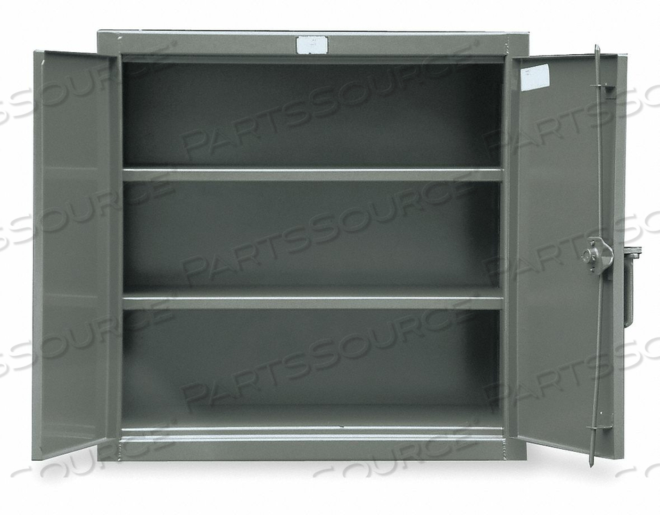 SHELVING CABINET 42 H 48 W DARK GRAY by Strong Hold