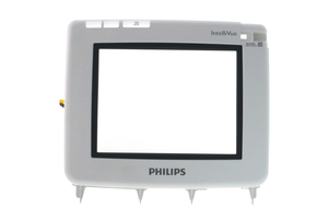IV PATIENT MONITOR TOUCH GLASS PANEL 4 WIRE AND BEZEL ASSEMBLY by Philips Healthcare