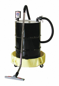 Q-VAC WITH SPILL SCOOTER 100 WET VACUUM by Enpac