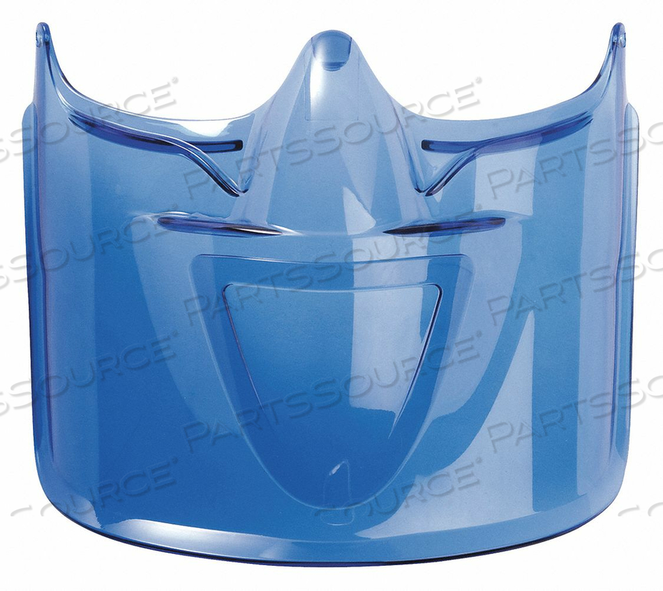 VISOR/FACE SHIELD BLUE POLYCARBONATE by Bolle Safety