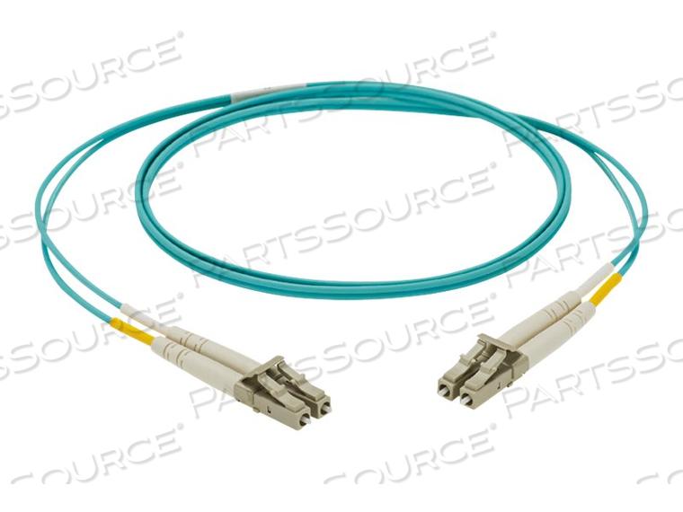PANDUIT NETKEY - PATCH CABLE - LC MULTI-MODE (M) TO LC MULTI-MODE (M) - 15 M - FIBER OPTIC - 50 / 125 MICRON - OM3 - HALOGEN-FREE - AQUA by Panduit