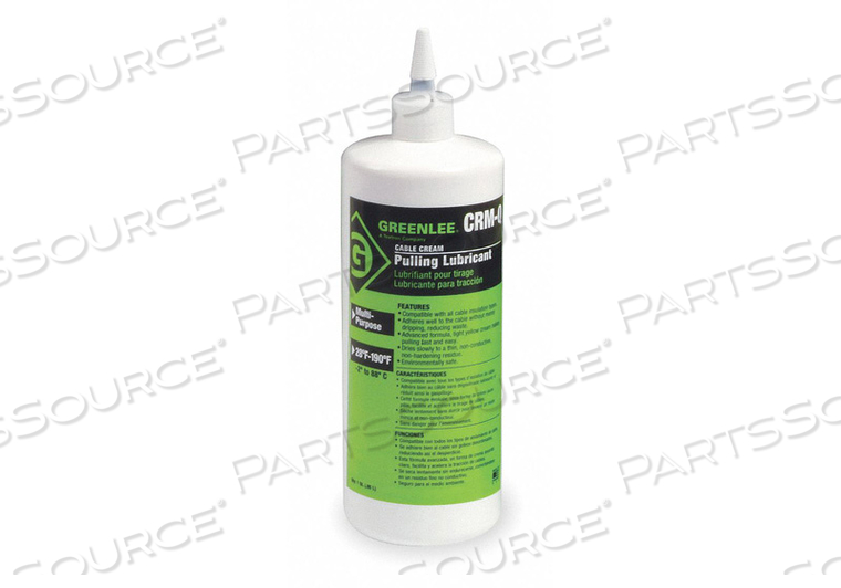 PULLING LUBRICANT CREAM 1 QT by Greenlee