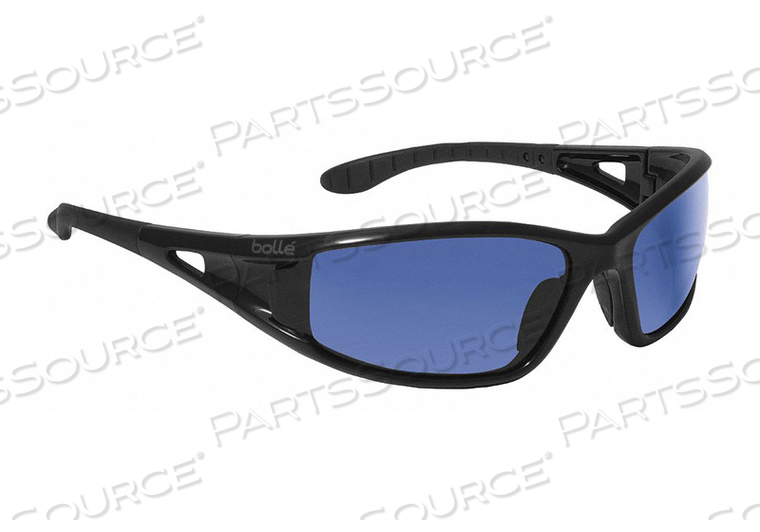 SAFETY GLASSES BLUE MIRROR SCRATCHRESIST by Bolle Safety