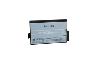 BATTERY RECHARGEABLE, LITHIUM ION, 10.8V, 6 AH by Philips Healthcare
