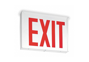 EXIT SIGN WITH BTTRY BACKUP 5.0W 1 OR 2 by Lithonia Lighting